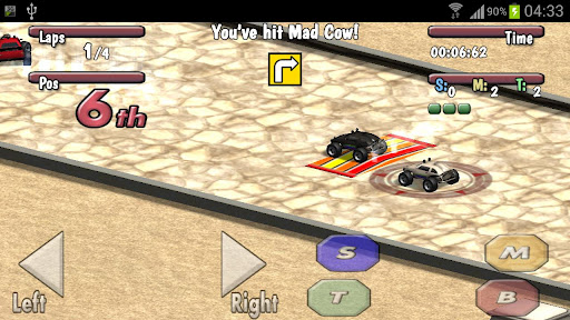 Time to Rock Racing Demo screenshots 2