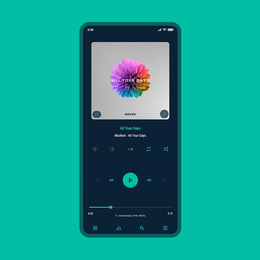 Download APK: Aurora – Poweramp v3 Skin v5.9 [Paid]