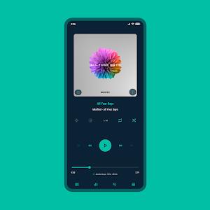 Aurora - Poweramp v3 Skin 5.8 (Paid)