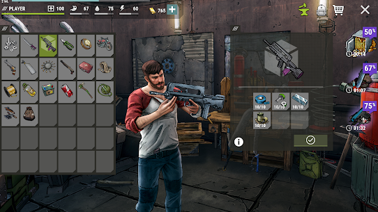 Dark Days: Zombie Survival Mod Apk (Unlimited Money + Energy) 3