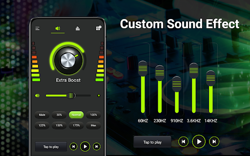 Volume booster - Sound Booster & Music Equalizer android2mod screenshots 13