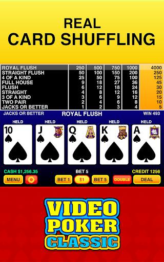 Video Poker Classic Free 3.3 screenshots 3