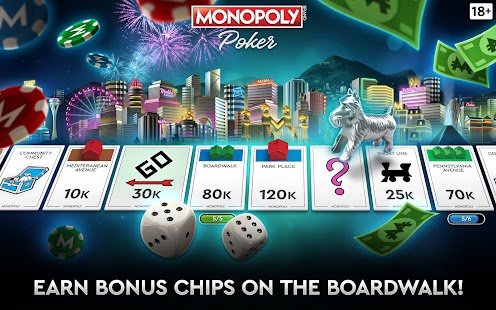 MONOPOLY Poker - The Official Texas Holdem Online Screenshot