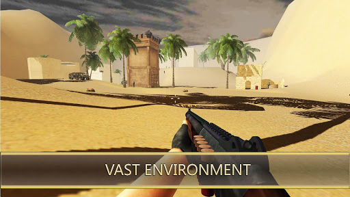 Desert Hawks: Soldier War Game Apkfinish screenshots 5