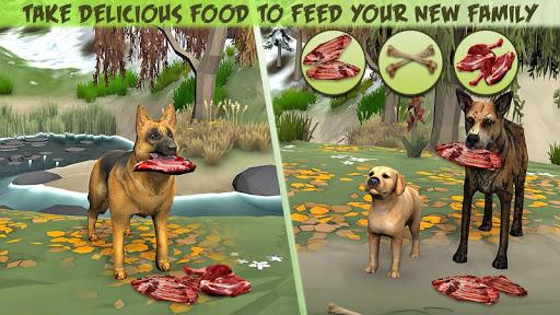 Code Triche Dog Family Simulator - Virtual Game 2019 (Astuce) APK MOD screenshots 3
