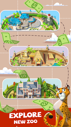 Merge Animal Kingdom - Zoo Tycoon 1.6.0 screenshots 12