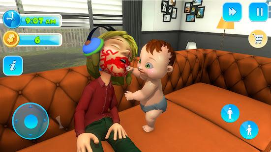 Naughty Newborn Mother Life- Family Simulator Game 1.0.0 screenshots 1