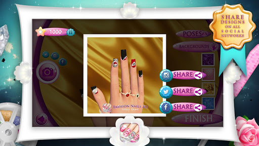 Fashion Nails 3D Girls Game 9.1.5 Screenshots 5
