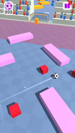 Tricky Kick - Crazy Soccer Goal Game 1.07 screenshots 1