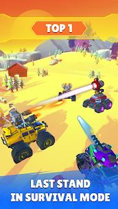 Battle Cars: Monster Hunter Mod Apk 2.3 (Free Shopping) 3