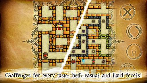 Dungeon Reaver: Maze Puzzle Game goodtube screenshots 4