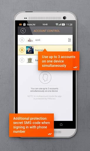 Secure messenger SafeUM 1.1.0.1548 Screenshots 8