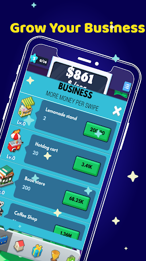 Money Clicker Game - Tycoon Make Money Rain  screenshots 3