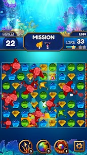 Under the Deep Sea: Jewel Match3 Puzzle 3