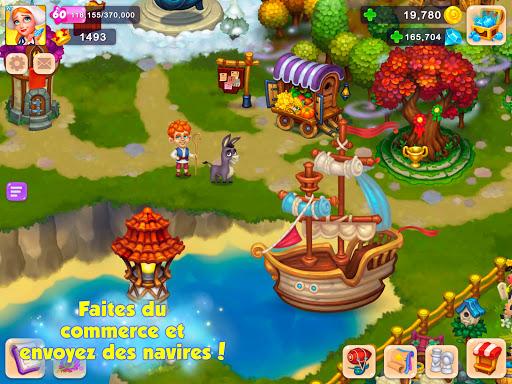 Royal Farm: Fabuleuse récolte APK MOD (Astuce) screenshots 5