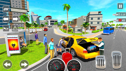 Taxi Driving Simulator City Car New Games 2021 0.3 screenshots 7
