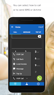 MobileVOIP Cheap international Calls MOD APK (Unlimited Credits) 4