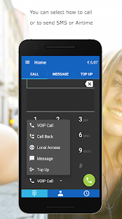 MobileVOIP Günstige Telefonate Screenshot
