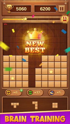 Wood Block Puzzle - Free Classic Brain Puzzle Game 1.5.3 screenshots 21