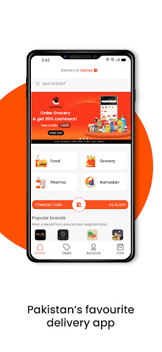 Cheetay, Pakistan's Favourite Delivery App apktram screenshots 2