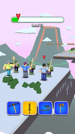 Roblock Transform Run - Epic Craft Race apkpoly screenshots 15