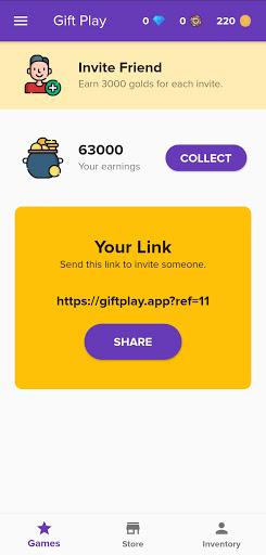 Gift Play - Free Game Codes modavailable screenshots 8