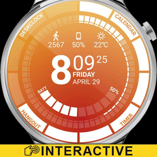 Venom Watch Face & Clock Widget Icon