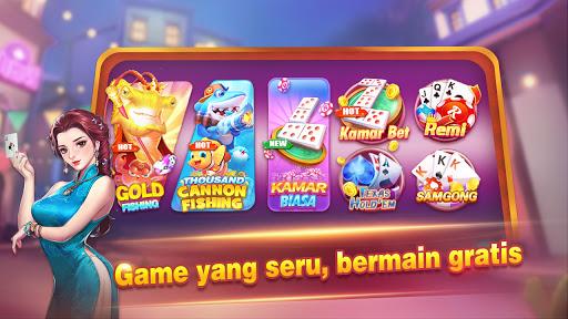 Lucky Domino-Gaple Remi Poker Fishing Game Online screenshots 1