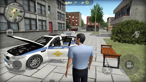 Car Simulator M5: Russian Police 1.11 screenshots 2