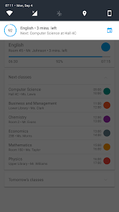 Chalkboard - School, Timetable & Homework Planner Capture d'écran