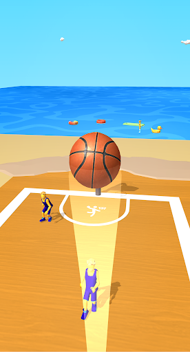 Dribble Hoops Apkfinish screenshots 4