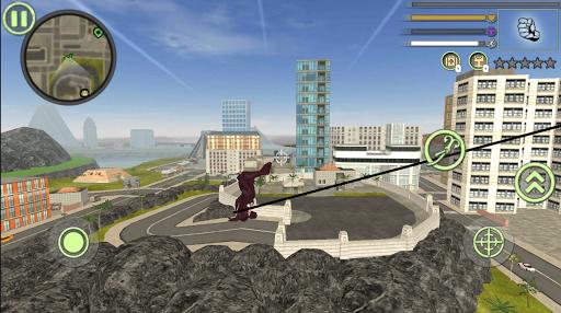 Neon Spider Rope Hero : Vice Town 1.0 Screenshots 6