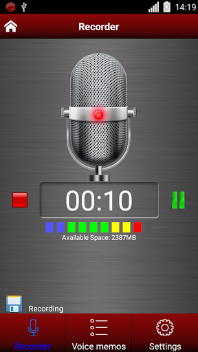 Voice recorder 1.38.463 Screenshots 3