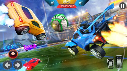 Rocket Car Ball League - 3D Car Soccer Game  screenshots 2
