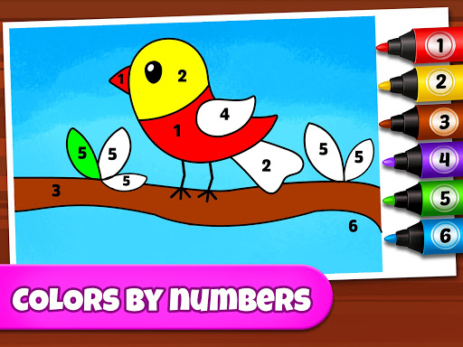 Coloring Games: Coloring Book, Painting, Glow Draw  screenshots 12