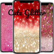 Cute Glitter Wallpaper