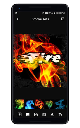 Smoke Name Art - Smoky Effect Focus n Filter Maker 0.36 Screenshots 15