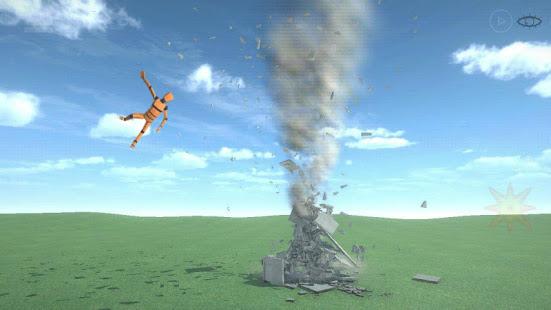 Destruction simulator: physics demolition sandbox 0.3.9 screenshots 1