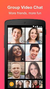 JusTalk - Free Video Calls and Fun Video Chat Screenshot