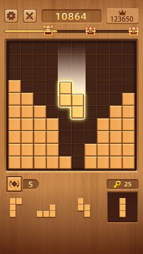WoodCube: Wood Block Puzzle Games  screenshots 1