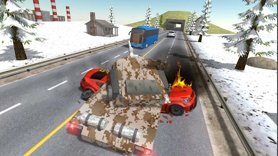 Tank Traffic Racer v 1.4 [Много денег] 3
