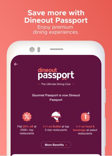 Dineout:Find Restaurants, Deals & Assured Cashback 9.9.8 Screenshots 5