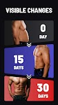 screenshot of Six Pack in 30 Days - Abs Workout