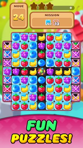 Fruit Delight Burst: Match3 Sweet Puzzle Adventure 1.0.23 screenshots 2
