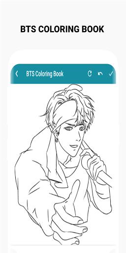 BTS Coloring Book  Screenshots 4