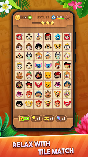 Tile Puzzle: Pair Match and Connect Game 2021 Apkfinish screenshots 12
