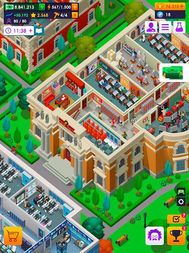 University Empire Tycoon - Idle Management Game 0.9.5 screenshots 17