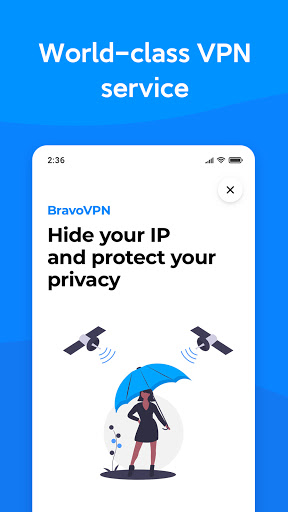 Bravo VPN - Fast, Free VPN for Privacy and Secure  screenshots 1