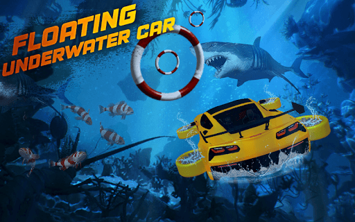 Underwater Flying Car Game 1.0.2 screenshots 3