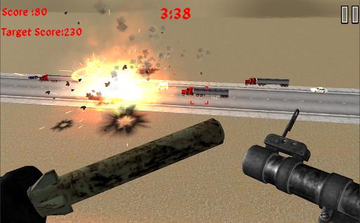 Rocket Launcher Traffic Shooter apkdebit screenshots 3